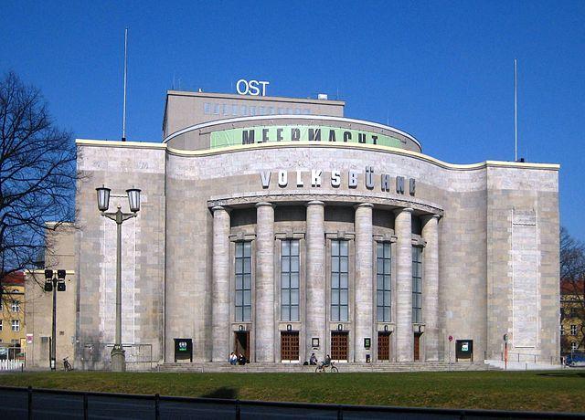Berlin, Mitte, Rosa-Luxemburg-Platz, Volksbühne 02, Foto: Beek100