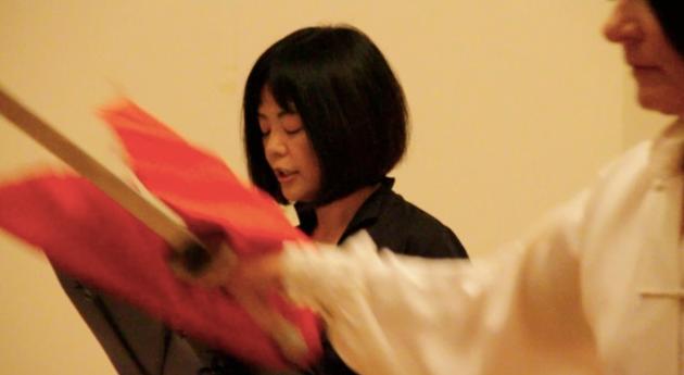Yoko Tawada, Filmstill © Robert Pflanz